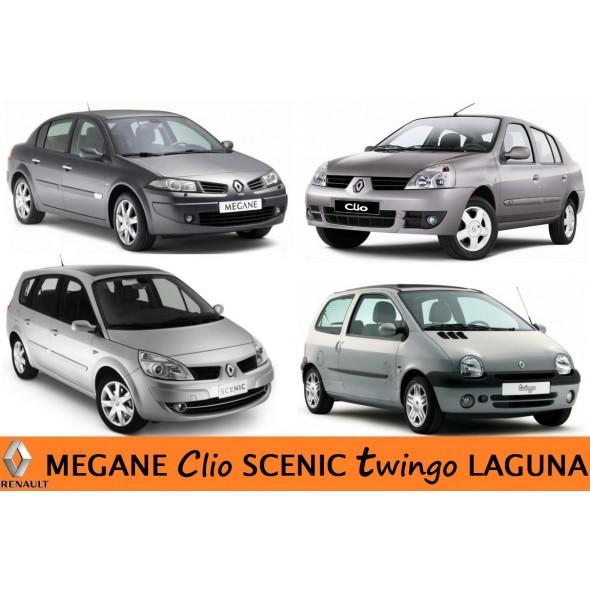 Megane Clio  Scenic Twingo Laguna....